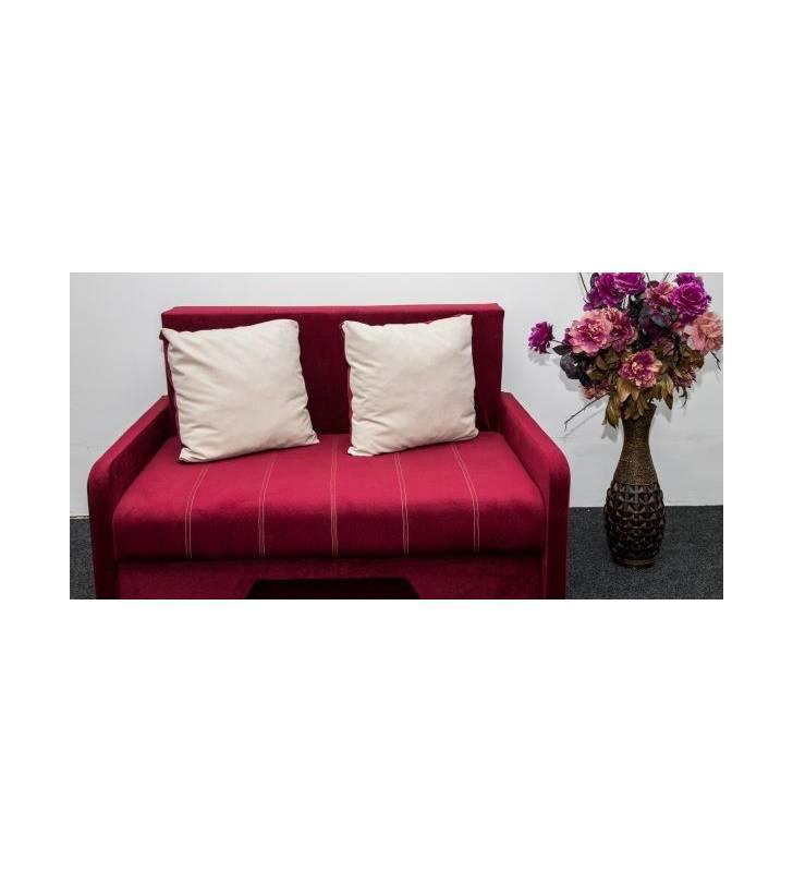 Canapea 2 locuri brat îngust